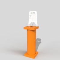Coloninna dispenser igienizzante Eco-me arancione