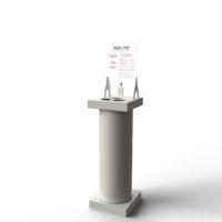 eco-me-colonnina-dispenser-fori-grigio-perla-stampack